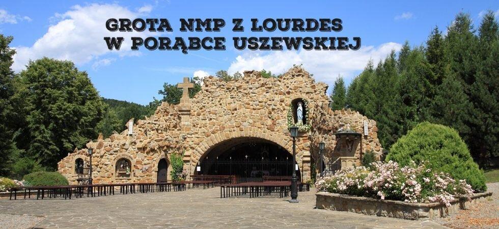 Grota NMP z Lourdes w Porąbce Uszewskiej