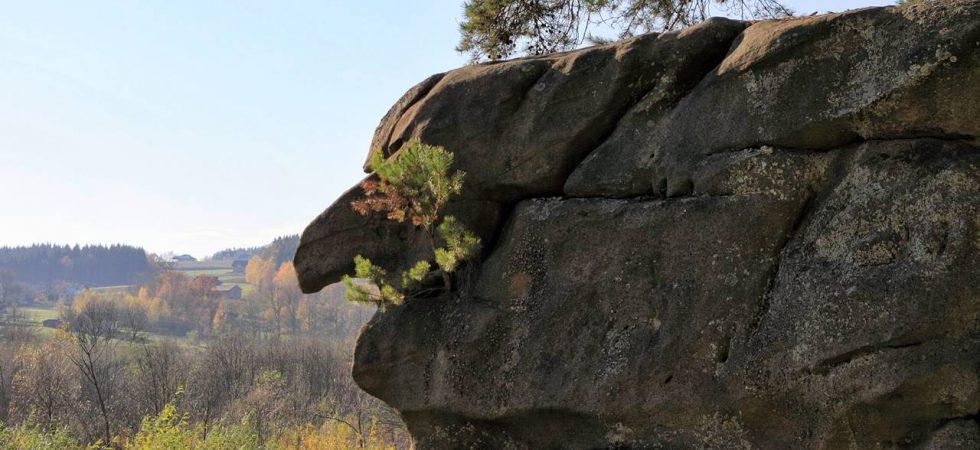 Ciężkowice - rezerwat przyrody Skamieniałe Miasto