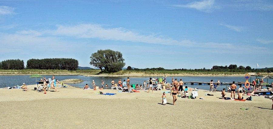 Kąpielisko Jurków-Chorwacja w Jurkowie koło Czchowa