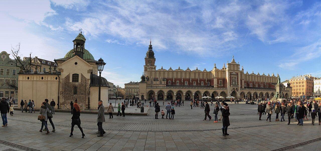 Kraków - Sukiennice na Rynku Głównym