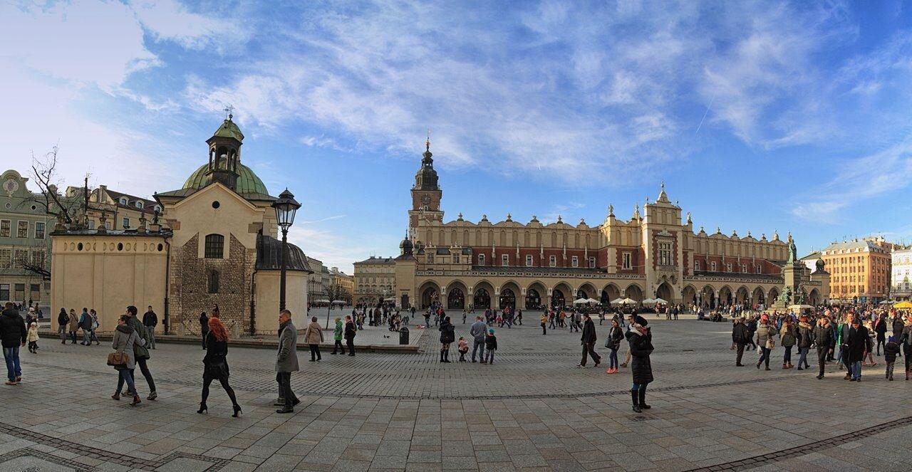 Rynek w Krakowie i Sukiennice